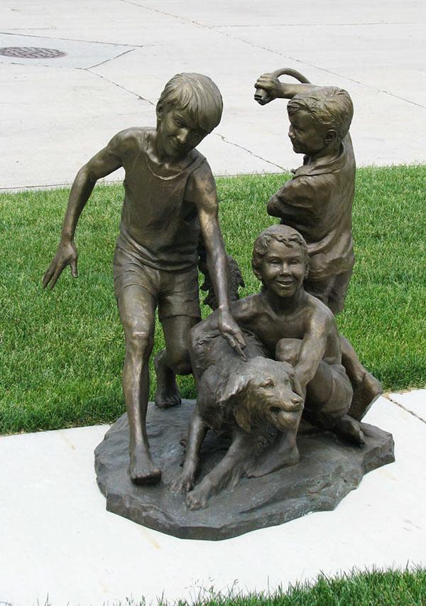 Custom Life Size Bronze Children S Portraits Amp Statues On