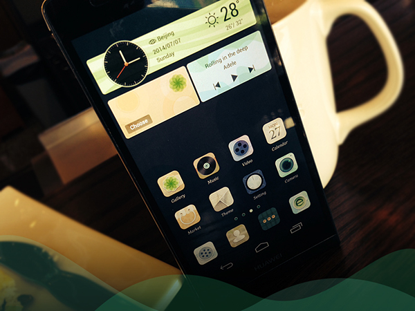 Wonderful-HUAWEI phone theme-EMUI on Behance