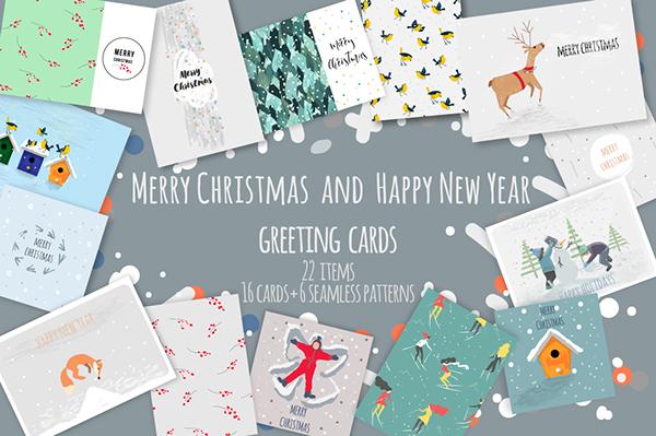 細緻的27個聖誕卡片欣賞