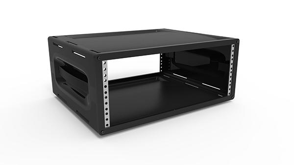 Portable 19 Quot Rack : Portable desktop quot rack u on behance