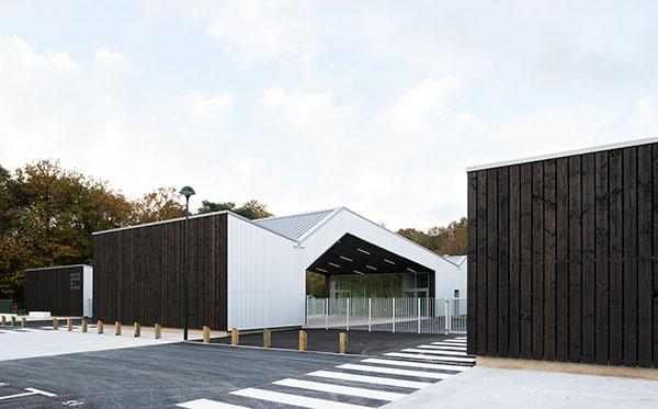 g2 architectes groupe scolaire bouquelon fr on behance. Black Bedroom Furniture Sets. Home Design Ideas