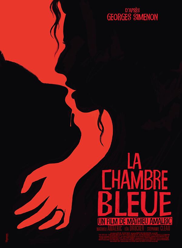 La chambre bleue poster for Chambre bleue film