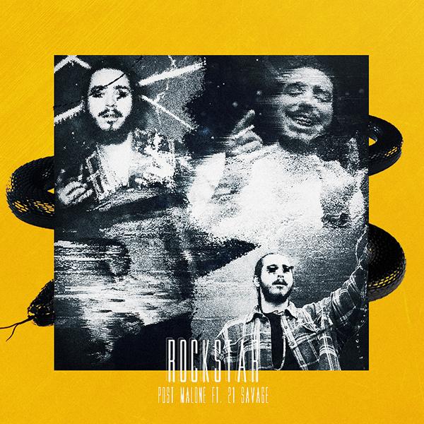 Post Malone 21 Savage: Rockstar Album Cover On Behance