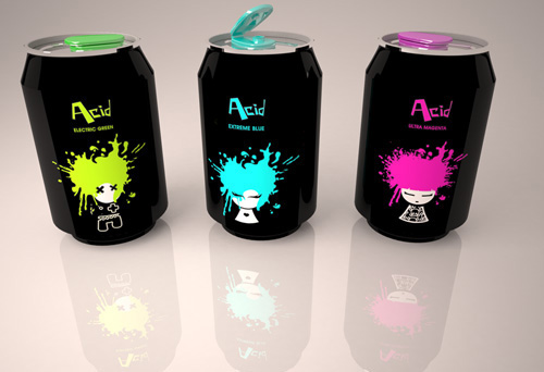 Packaging, Coloring shampoo for teens. on Behance