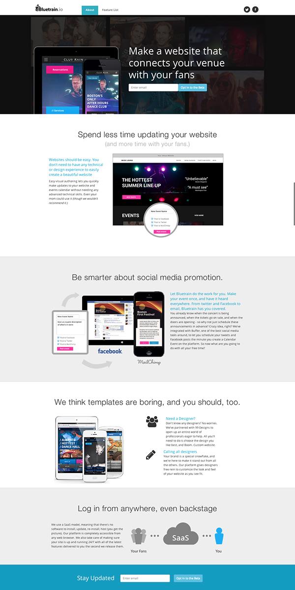 Website Homepage Designs Photoshop Html Css On Behance
