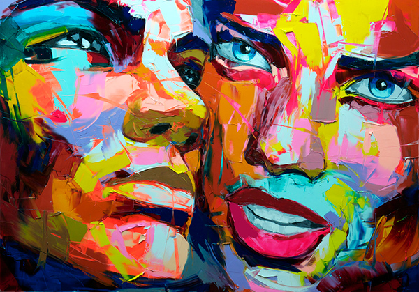 Colorful and Expressive Paintings by Nielly Francoise
