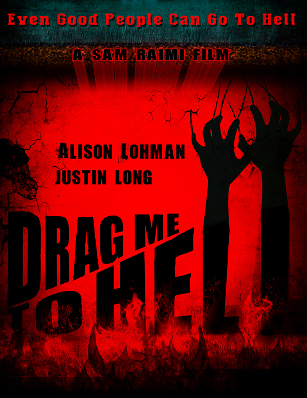 drag me to hell movie poster on behance