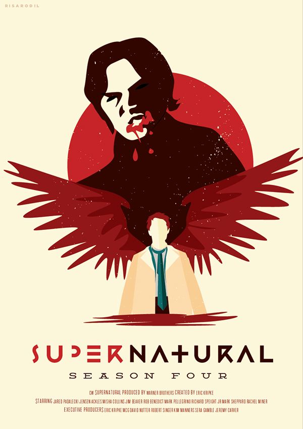 Supernatural Reimagined Season Posters on Behance