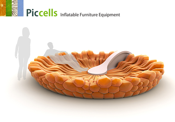 PicCells Inflatable Furniture Equipment on Behance