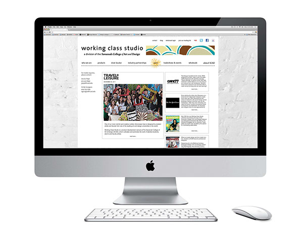 working class studio shopping website wholesaling