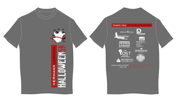 Hl halloween 5k branding on behance for T shirt printing st charles mo