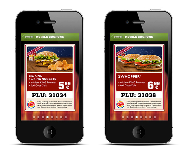 Burger King Mobile Coupons