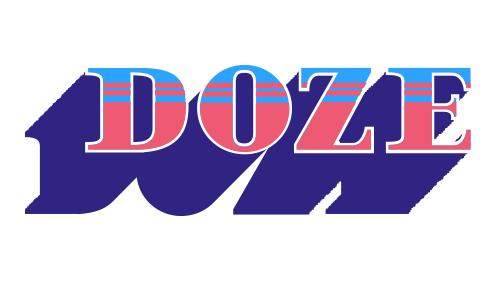 font video motion motion design doze studio Nantes Typeface