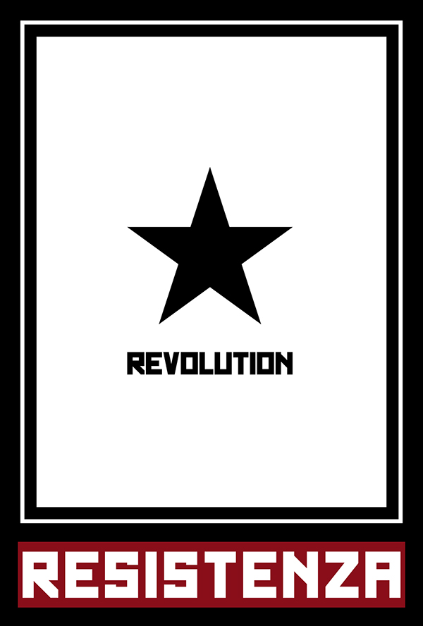 revolution occupy OBEY disobey Italy Beirut posters army Shepard Fairey anonymous black Lobo bchennaty wolf