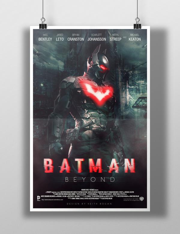 batman Batman Beyond dc Dc Comics comic books comic book movies Fan Art movie poster movie concept