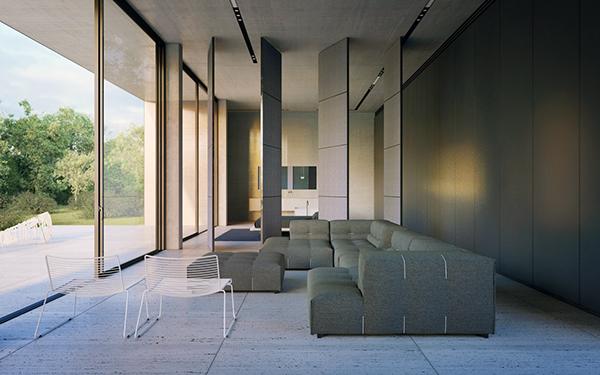 architecure Interior house Villa ukraine