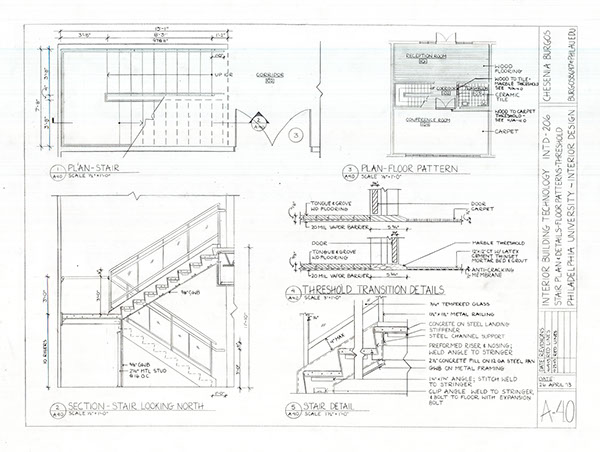 Architecture Drawing Interior Design