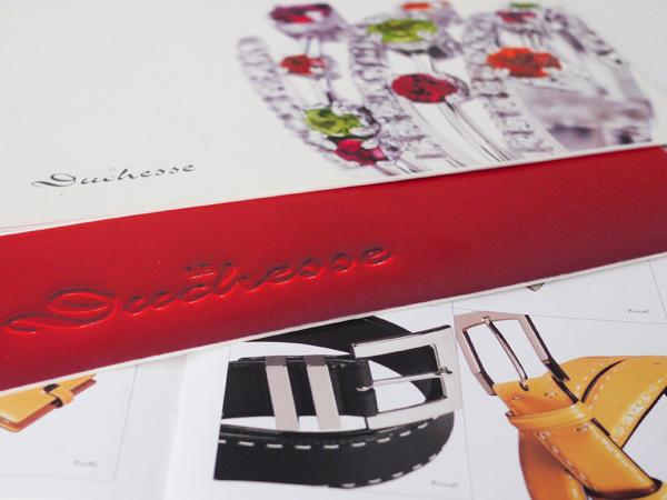 Le duchesse  brochure brand graphic