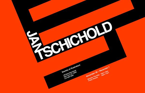 Jan Tschichold Exhibition ProjectJan Tschichold Posters
