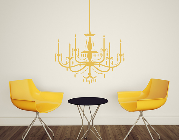 Wall decal motifs on behance wall decal chandelier mozeypictures Gallery