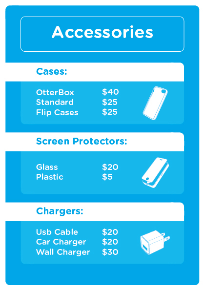 Price List Design for Cell City on Behance