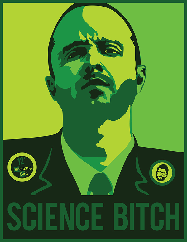 breaking bad posters on behance