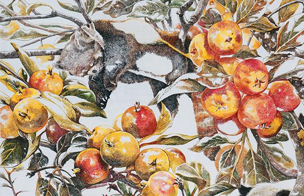 animal Fruit zhaona contemporary art Miniature