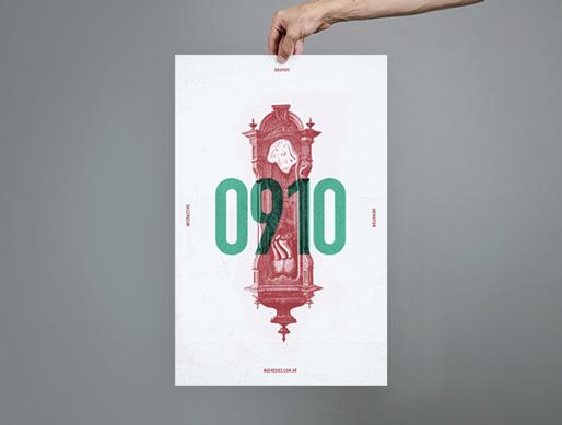nicolas lalli  Buenos Aires Magic   Psychonaut poster print grain old vintage