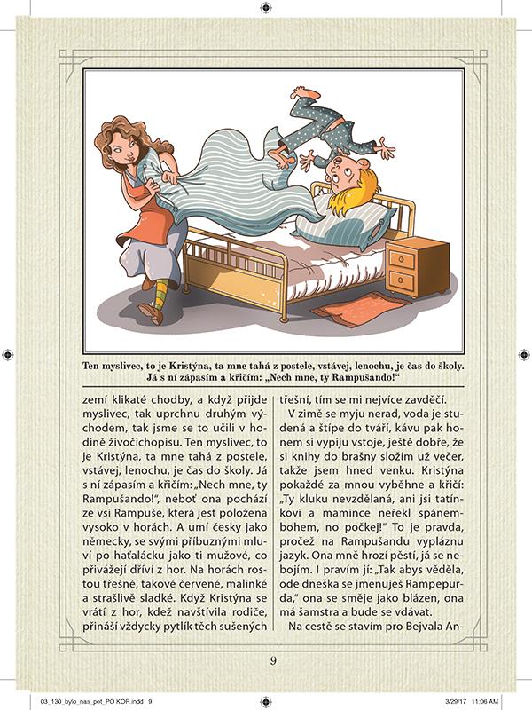book ILLUSTRATION  bylonaspet illustrations kid children cover boy ilustrace kniha