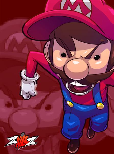 ZKILLZ // Super Mario Bros. on Behance