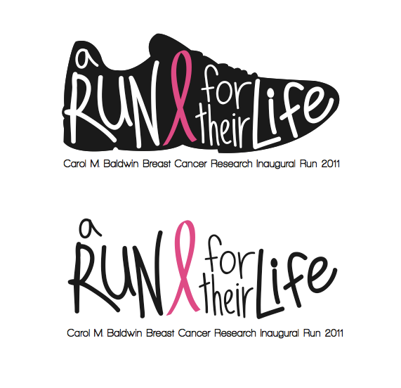 A Run for Their Life Logo on Behance