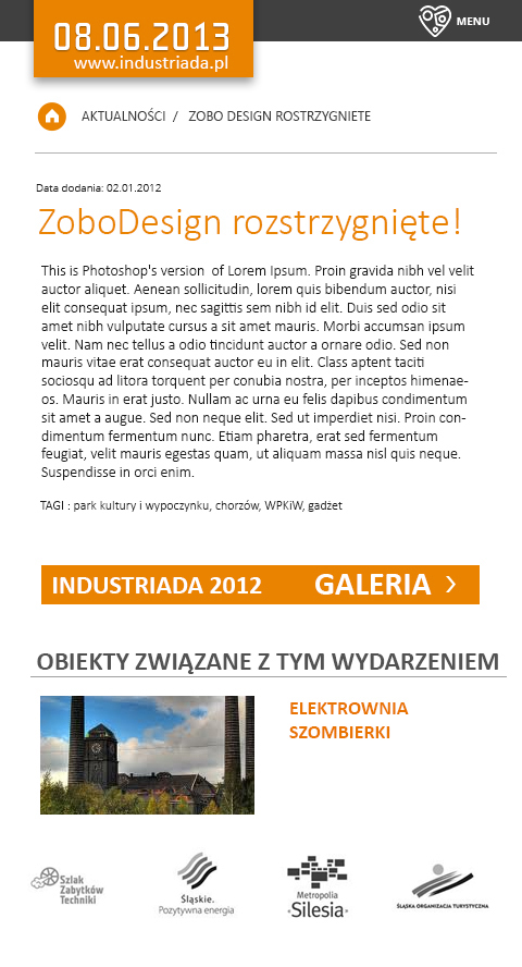 industriada monument route festival industrial silesia Śląsk agata szargot shagatta