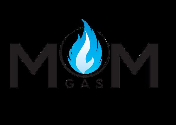 mom gas logo on behance