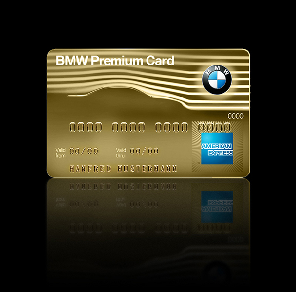 Bmw American Express Card Design On Pantone Canvas Gallery