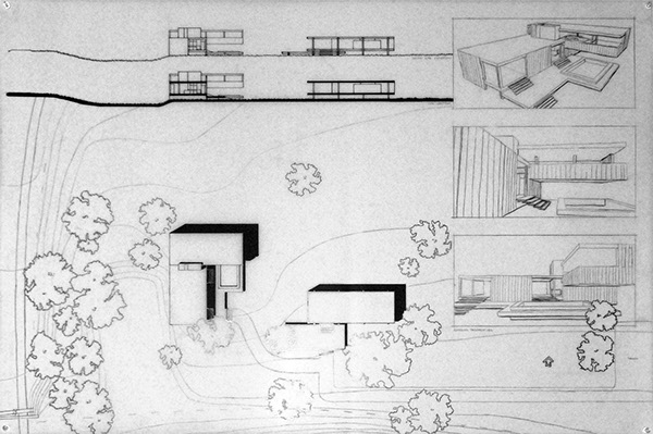 Farnsworth house addition on behance for Website to design a house