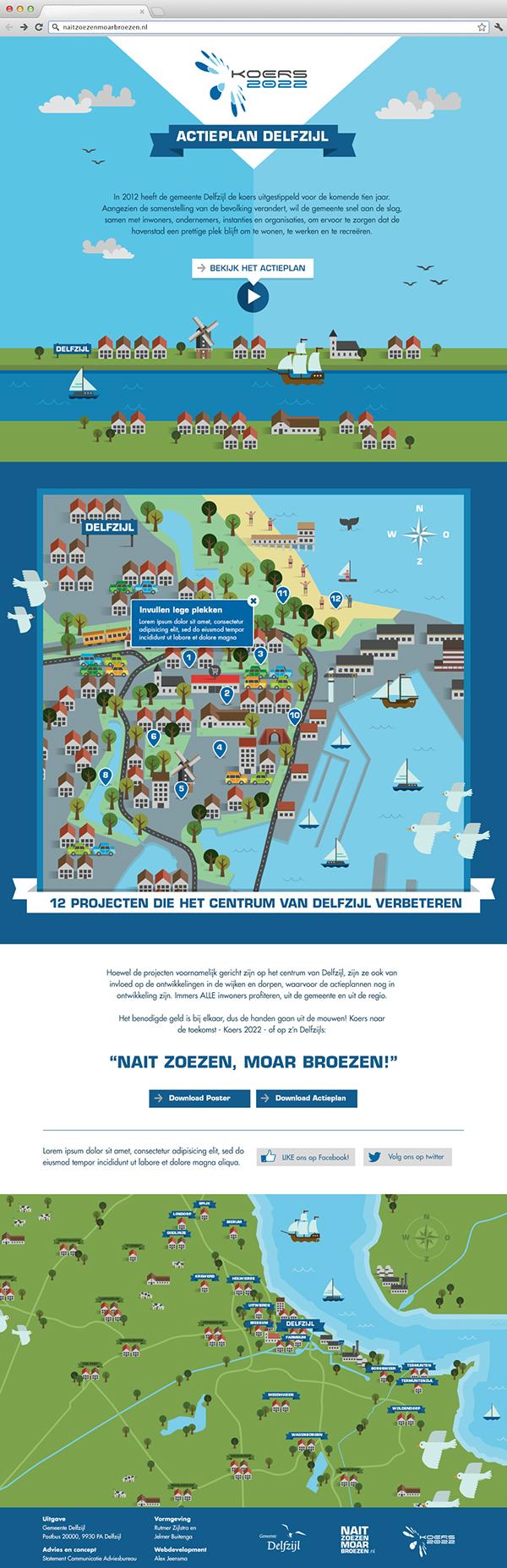 Actieplan Delfzijl on Behance