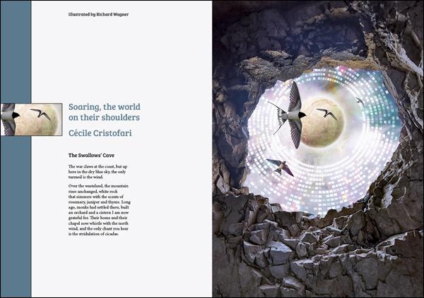 birds cave DNA egg fascism genetics science fiction swallows underground