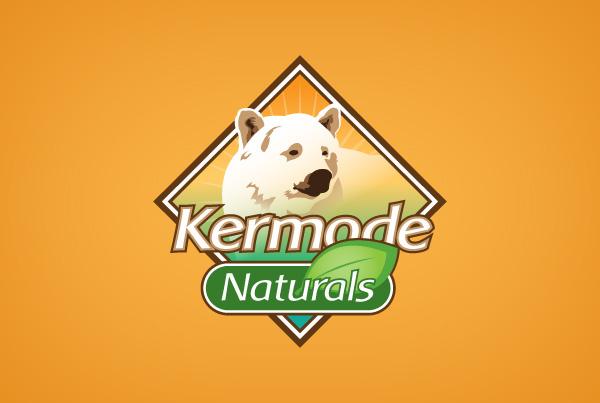 Kermode Naturals Packaging Logo Design Identity Design