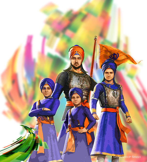 Chaar Sahibzaade on Behance