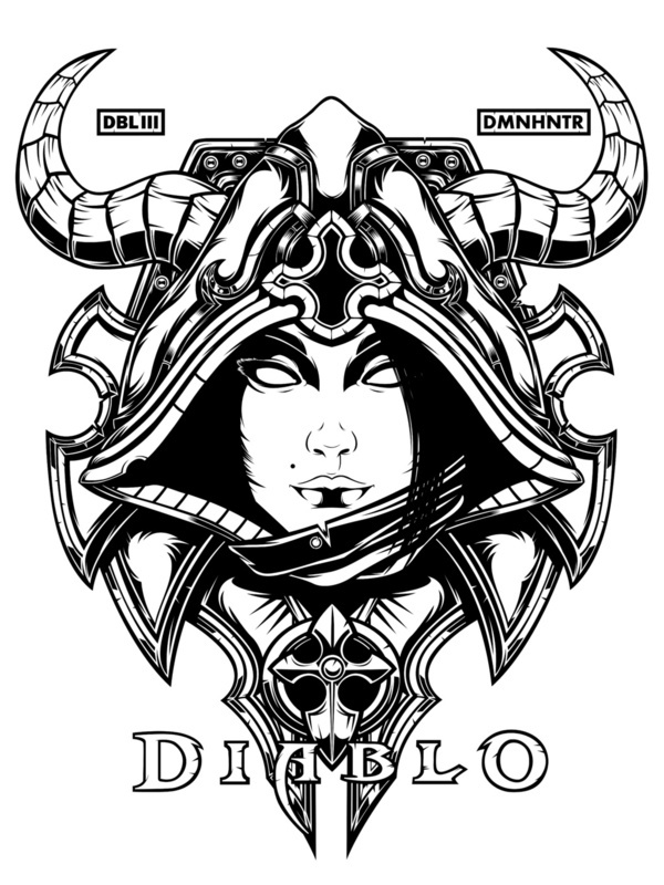 Diablo Iii Art Print S On Behance