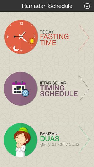 Ramadan Schedule on Behance