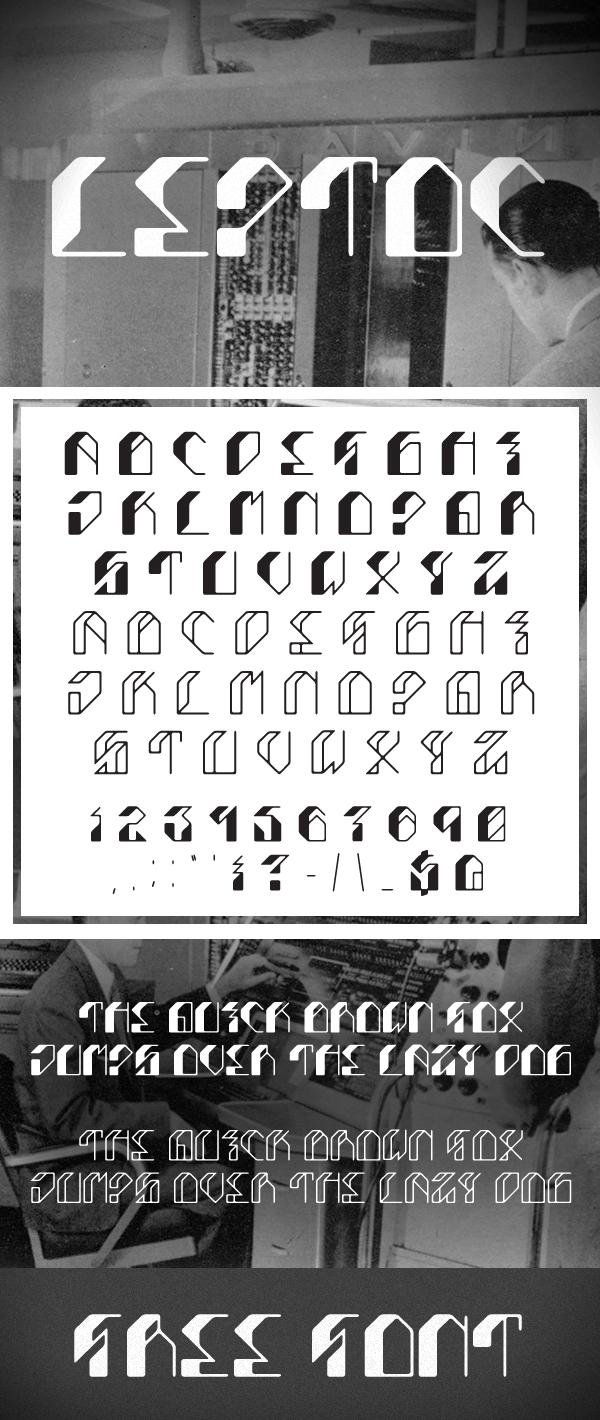 Leptoc Free Font Download