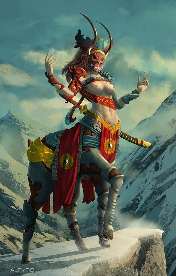 Mountain Lordess by Rémy Paul