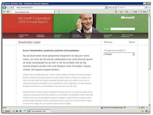 microsoft annual reports