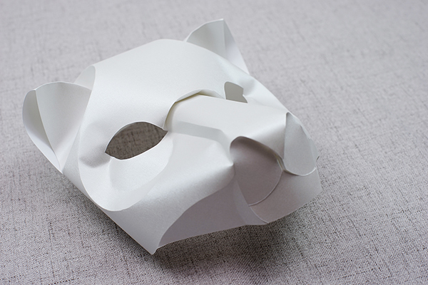 Curved Origami Using Wet Folding Technique | Stampede: Curated | 400x600