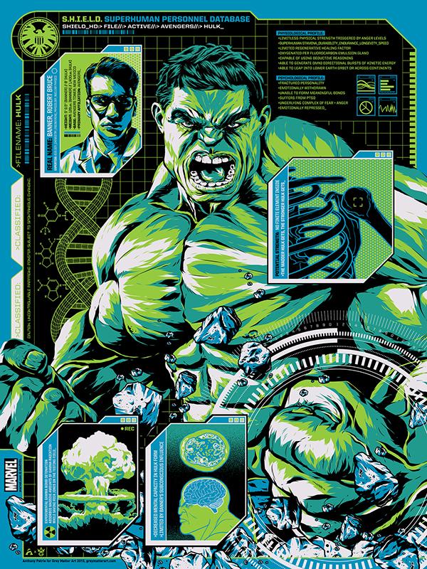 Character Design Jobs New York : S h i e l d files hulk on behance