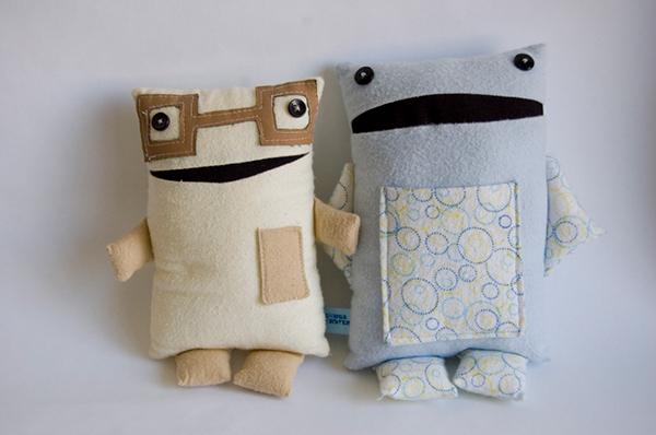 monsters stuffed doll