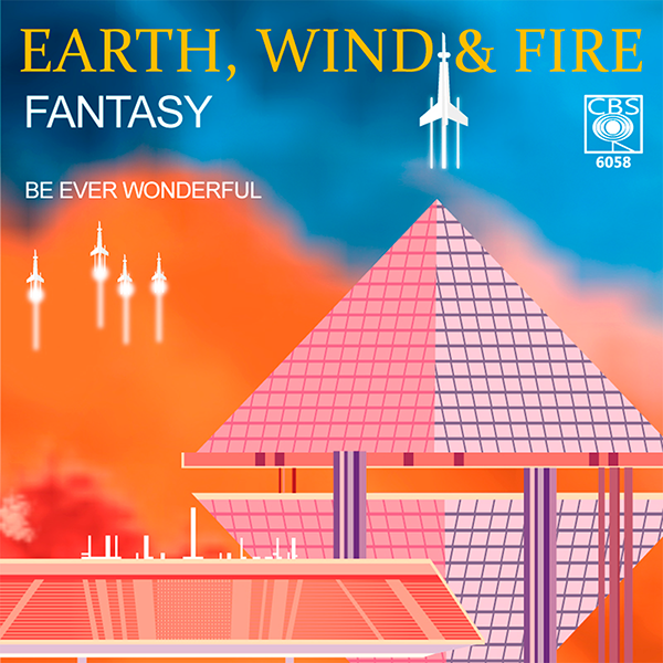 Album Cover Redesign Earth Wind And Fire On Pantone