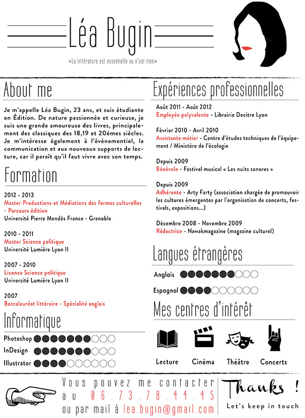 Resume / CV / Curriculum Vitae On Behance