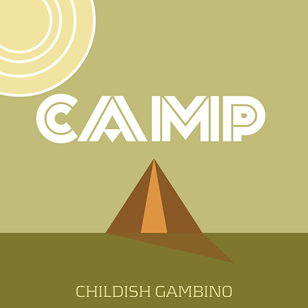Childish Gambino-CAMP on Behance